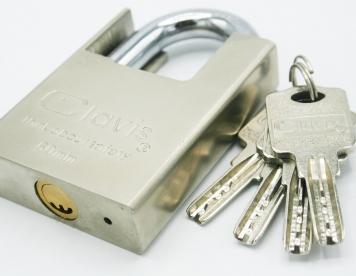 قفل آویز گارددار  60